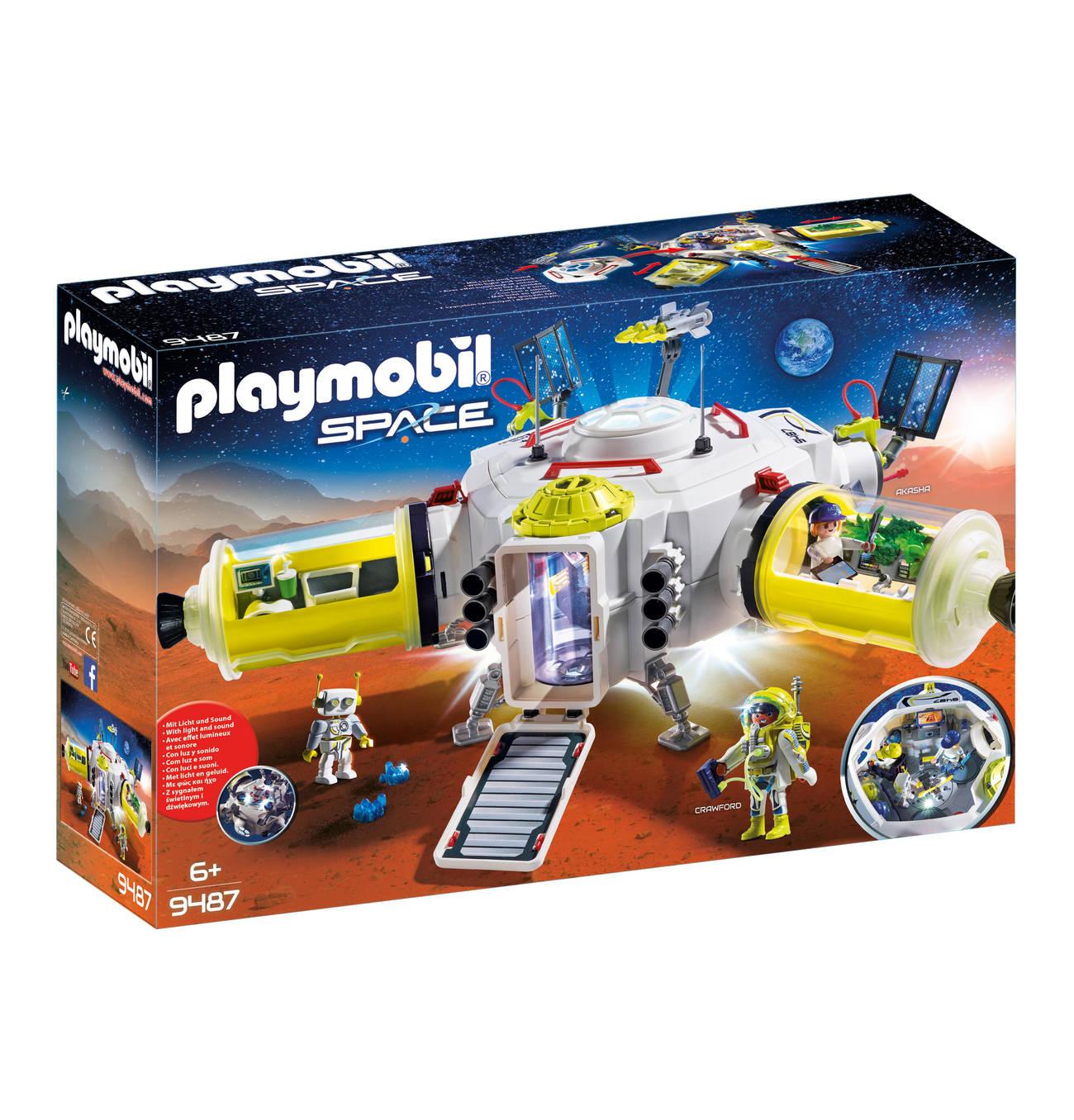 Mars-Station 9487   Playmobil, Raumstation Und Spielzeug bestimmt für Playmobil Raumfahrt