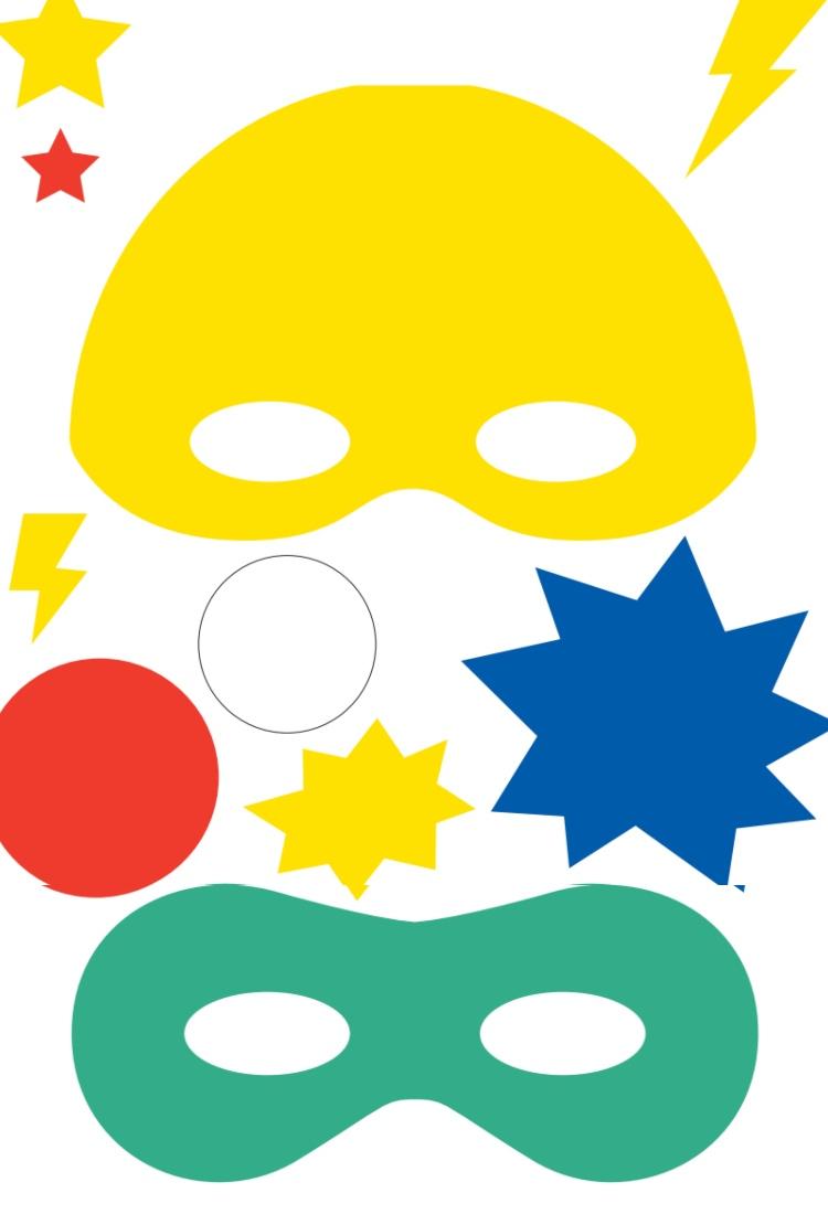 Masken Basteln Für Kinder - 22 Ideen Und Vorlagen Zum Ausdrucken über Masken Zum Ausdrucken