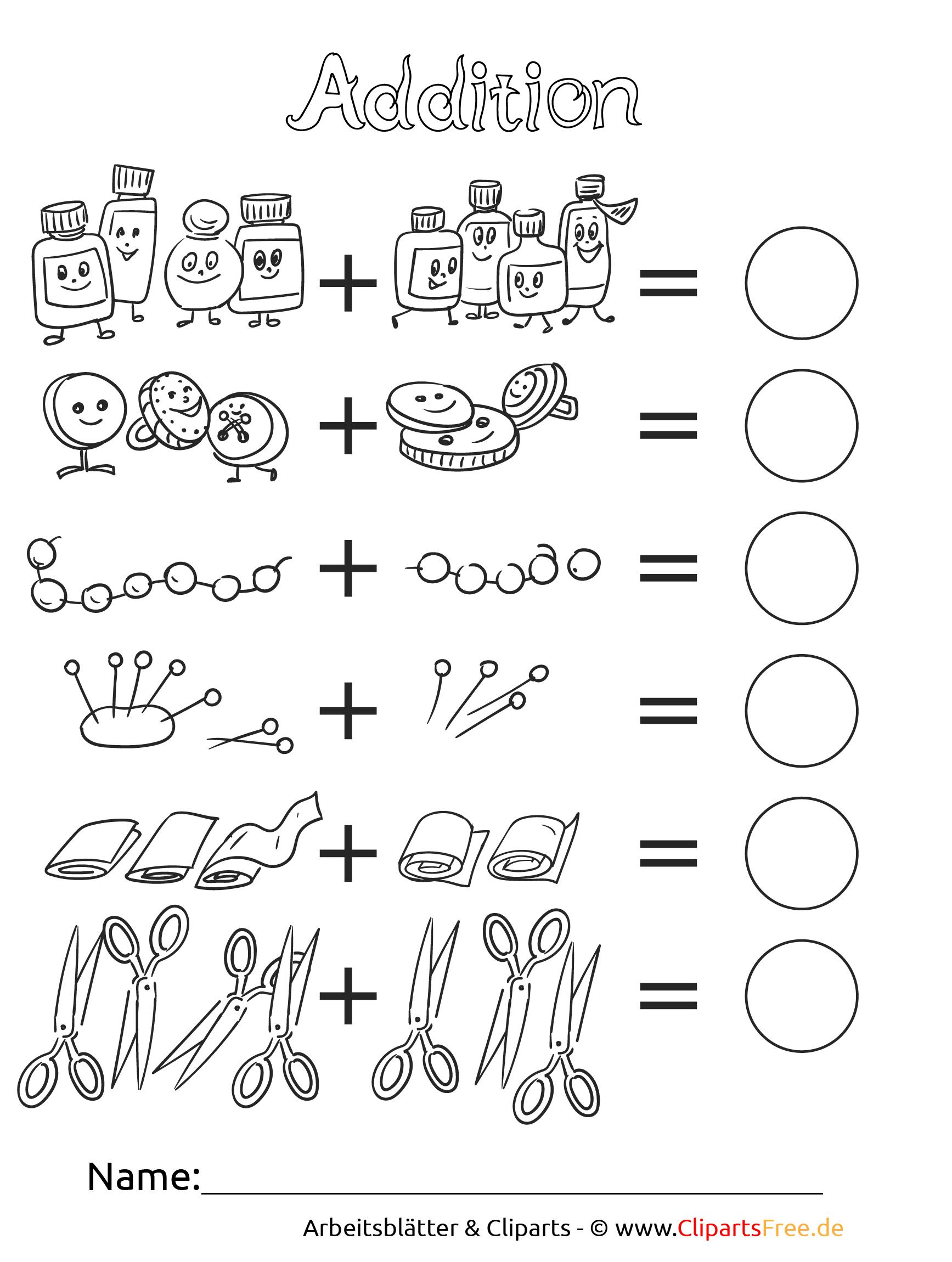 Mathe 1. Klasse Arbeitsblätter Für Die Grundschule mit Mathe Arbeitsblätter Klasse 1 Zum Ausdrucken