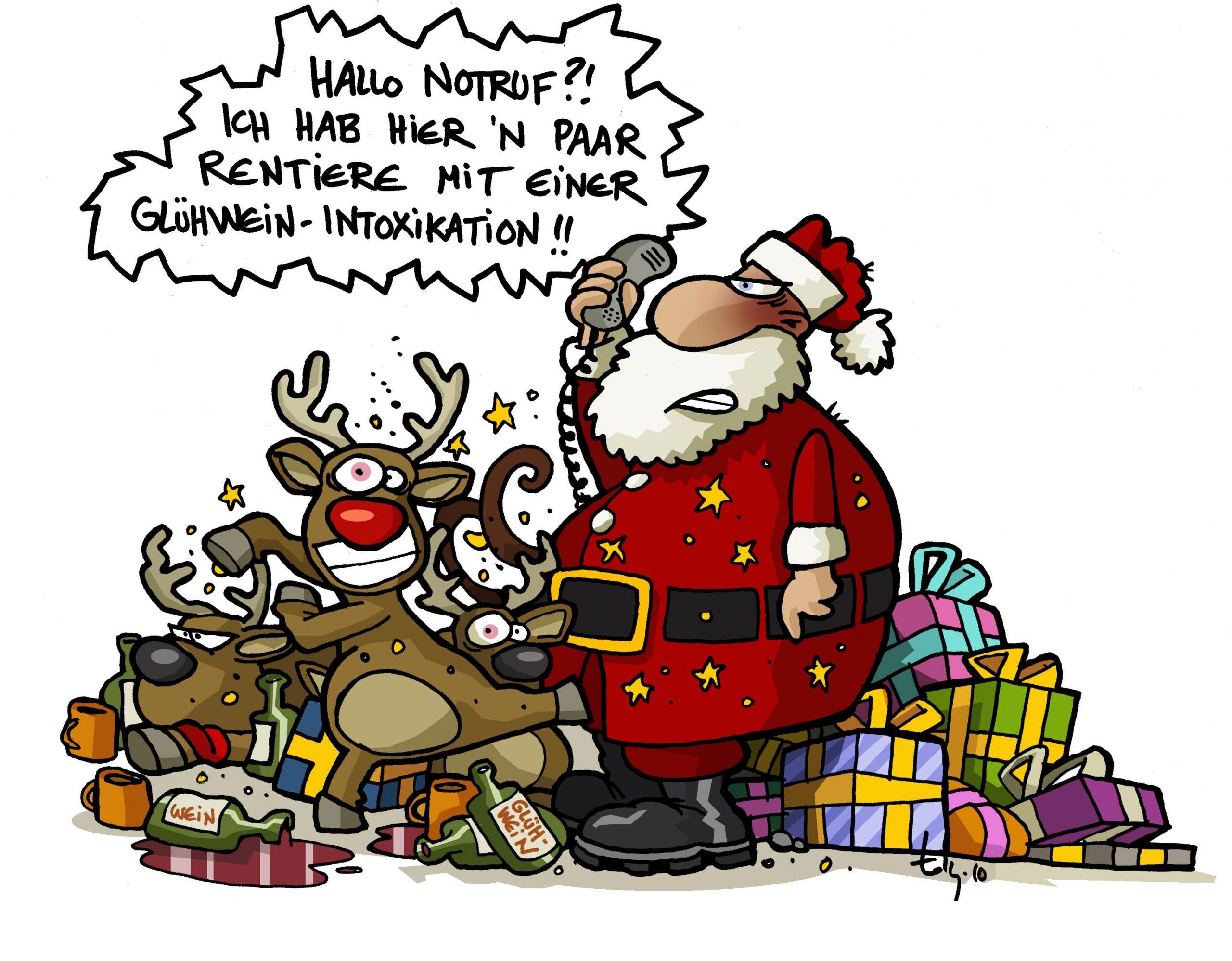 Medilearn #cartoons #weihnachten #weihnachtsmann #witzig bestimmt für Comic Weihnachtsmann