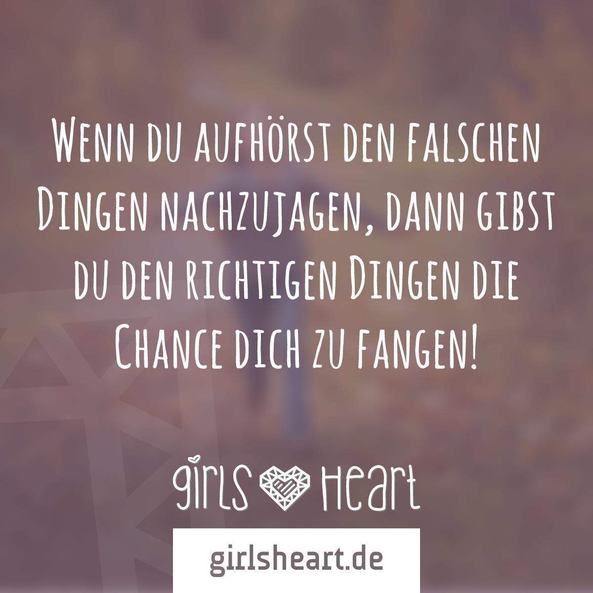 Mehr Sprüche Auf: Www.girlsheart.de #ziele #chancen #leben über Sprüche Über Das Leben Und Die Liebe