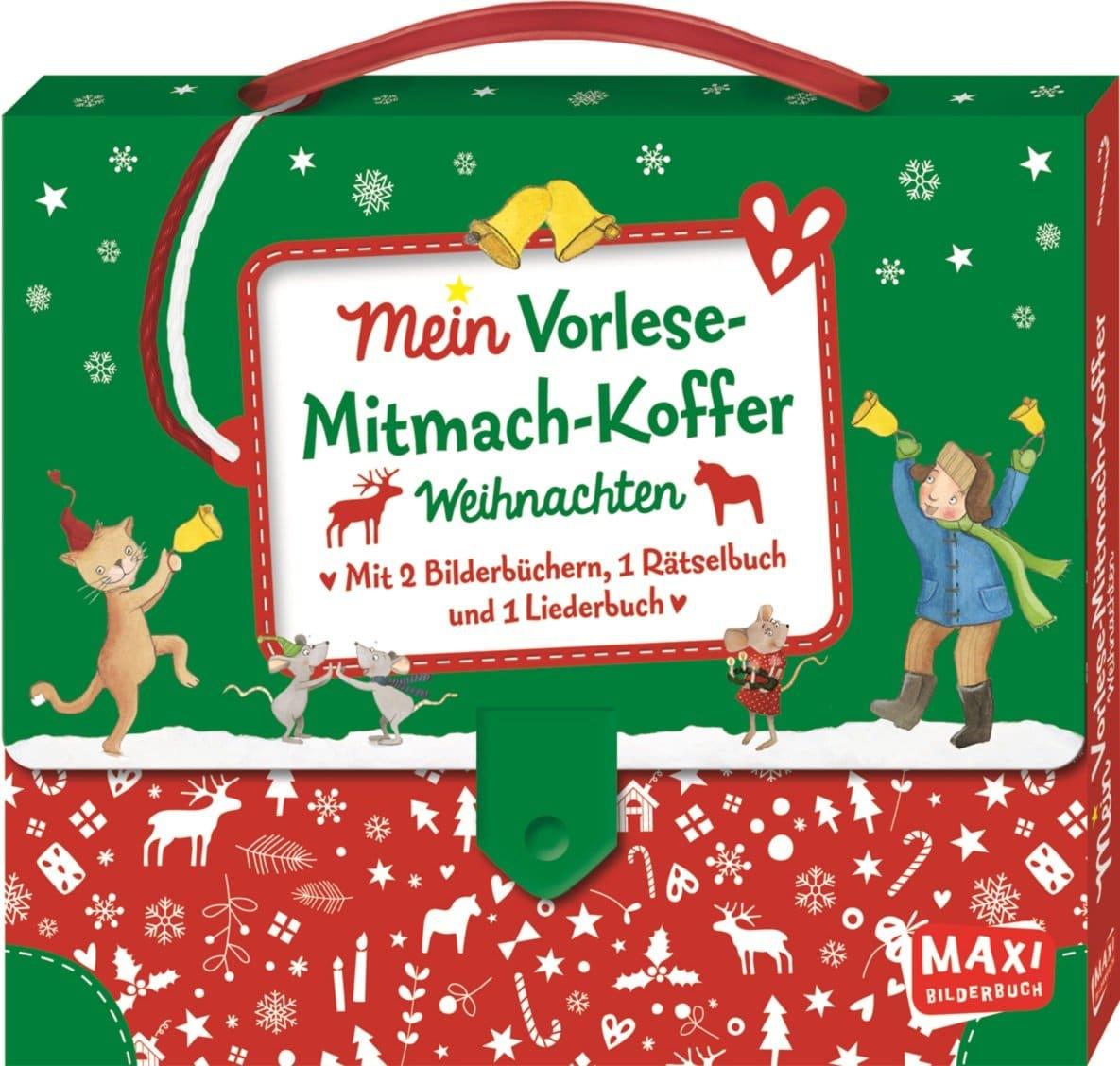 Mein Vorlese-Mitmach-Koffer: Weihnachten - Kinderbuchlesen.de bestimmt für Weihnachtsgeschichte Für Kindergartenkinder Zum Nachspielen