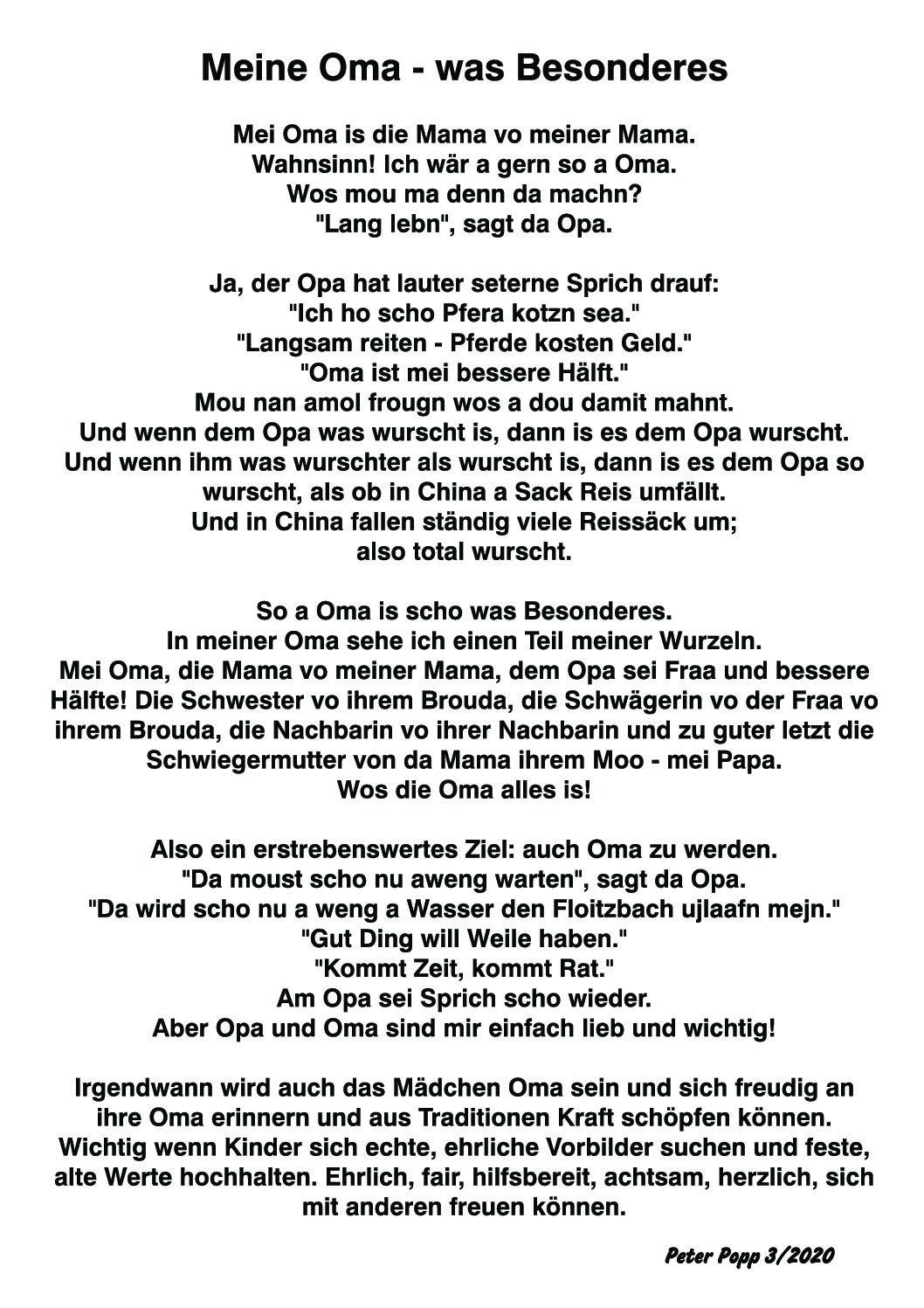 Meine Oma : Hundeschule-Immenreuth für Für Die Beste Oma Der Welt Gedichte
