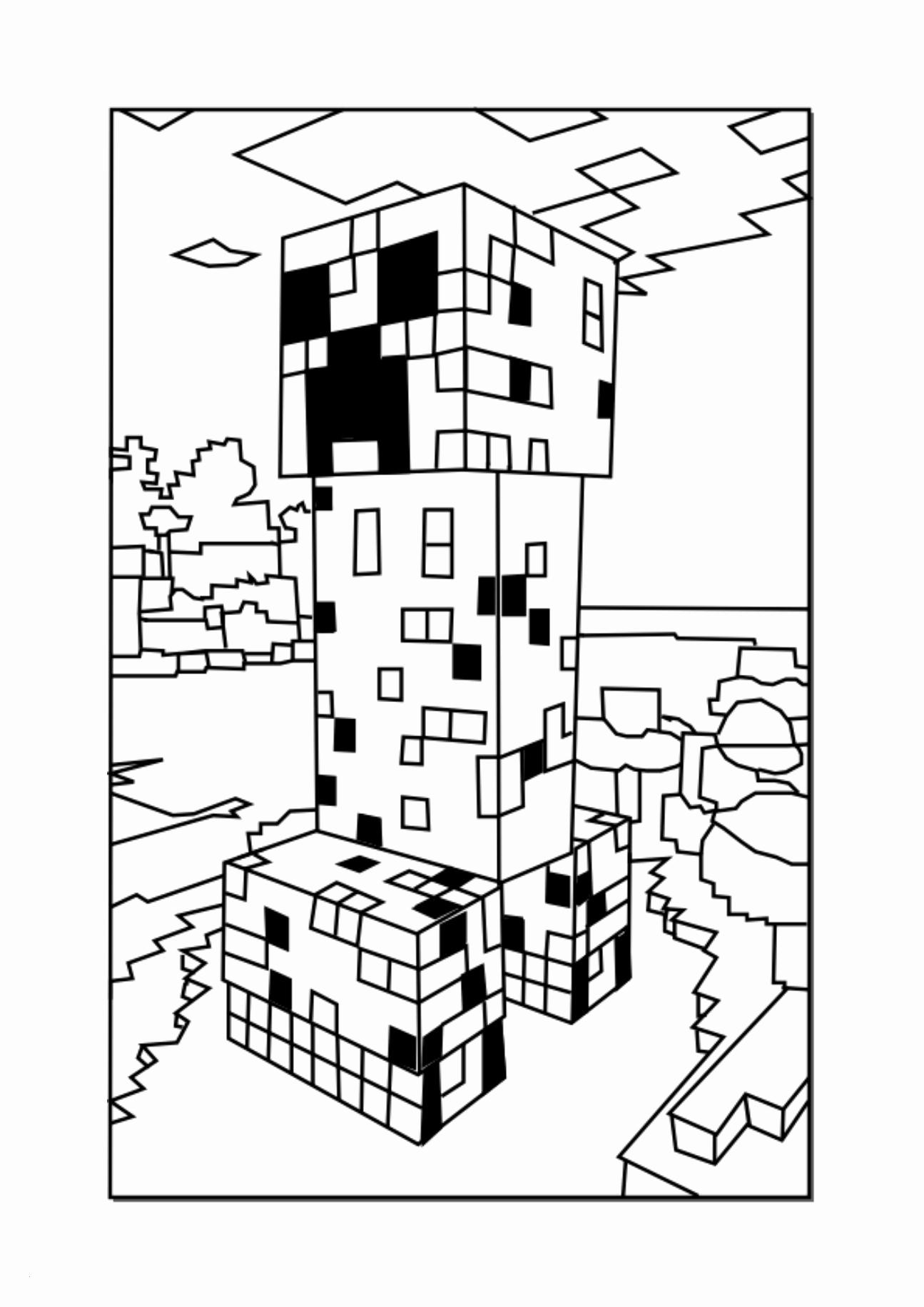 Minecraft Ausmalbilder Zum Ausdrucken Inspirierend Minecraft für Minecraft Ausmalbilder Zum Ausdrucken
