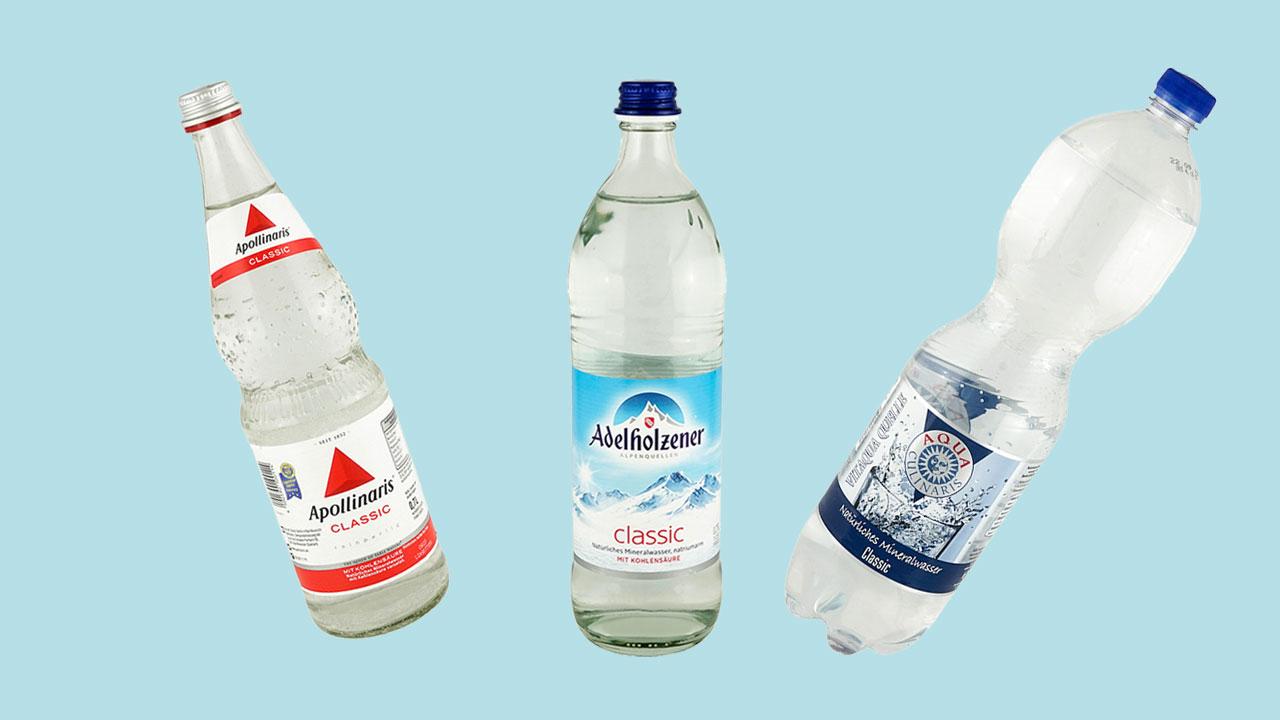 Mineralwasser-Test 2019: Teure Marken Enttäuschen Im Test bestimmt für Wasser Mit Kohlensäure Selber Machen