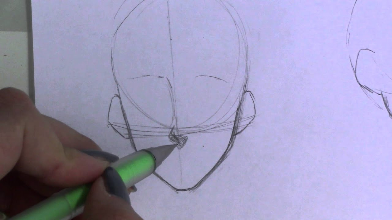 Mini-Tutorial: How To Draw Noses! (Manga/anime) über How To Draw Anime Nose Step By Step