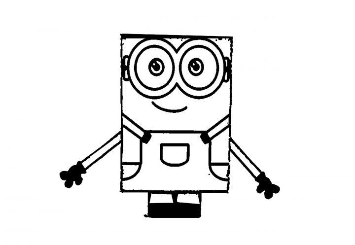minion malvorlage  kinderbilderdownload  kinderbilder