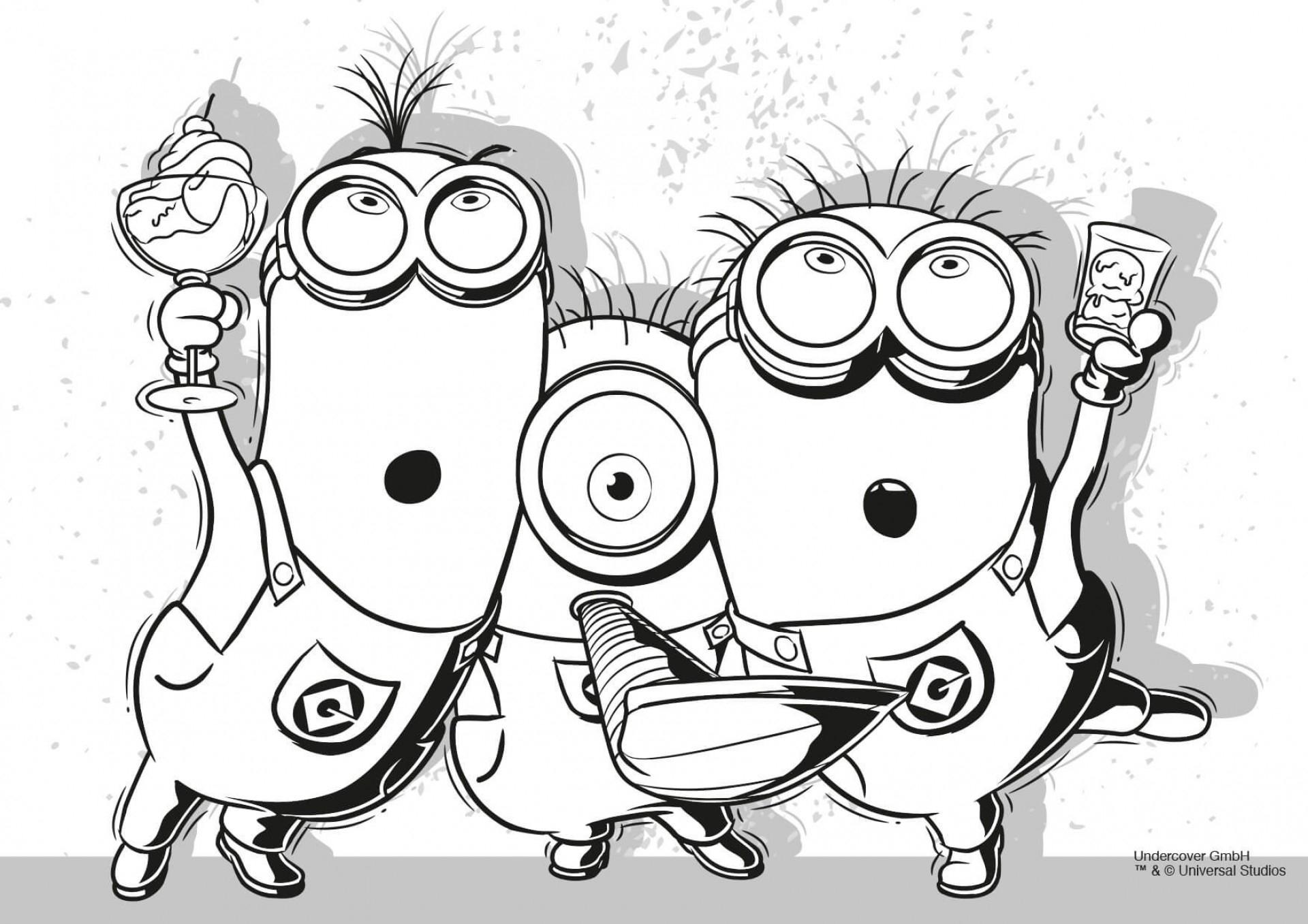 minions ausmalbilder kostenlos - kinderbilder.download