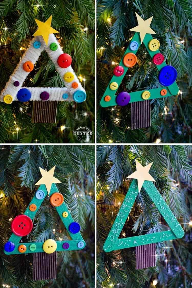 Mit Kindern Bezaubernde Deko Für Advent Und Weihnachten bestimmt für Christbaumschmuck Basteln Mit Kindern
