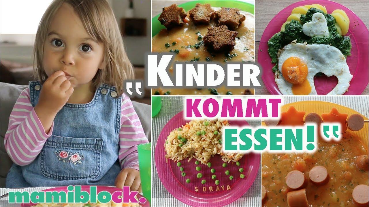 Mittagessen Für Kinder   Einfach - Gesund - Lecker   Mamiblock Rezepte bestimmt für Kochen Mit Kindern Im Kindergarten Rezepte