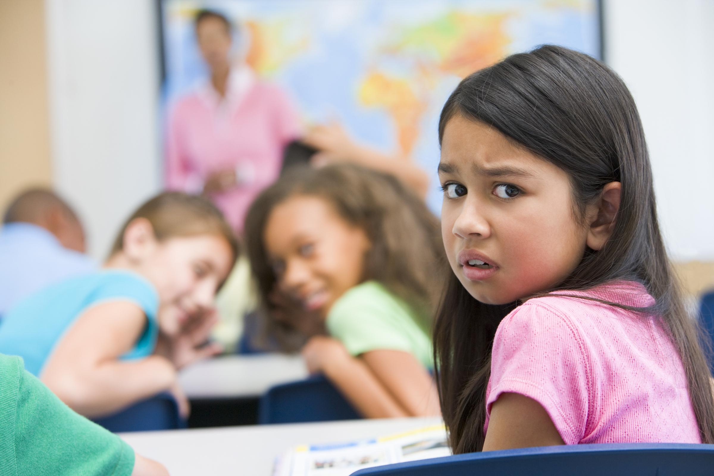 Kind Wird In Der Schule Geschlagen