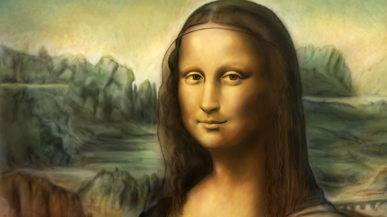Mona Lisa Von Leonardo Da Vinci (Speedpainting Von Missfeldt) mit Wann Hat Leonardo Da Vinci Die Mona Lisa Gemalt