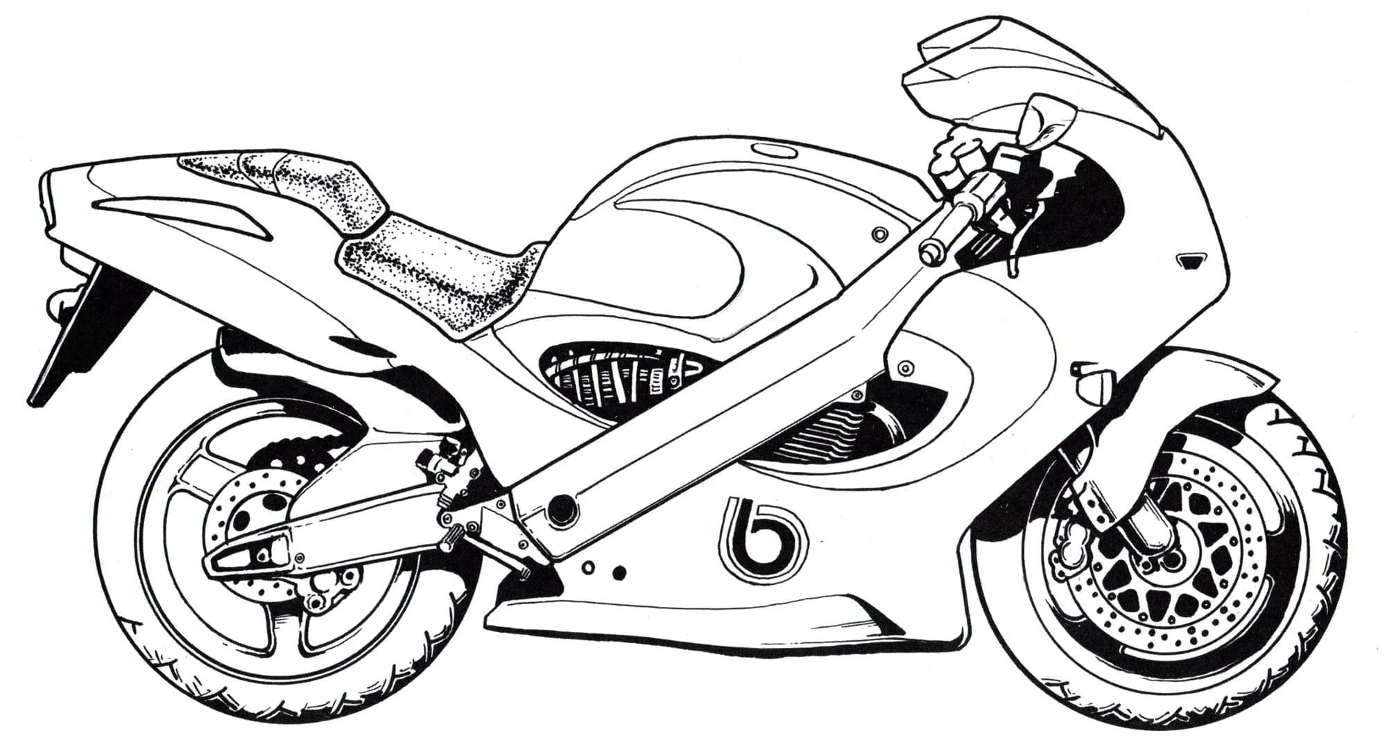 Motorrad Ausmalbilder. Besten Malvorlagen Zum Drucken bei Motorrad Ausmalbilder