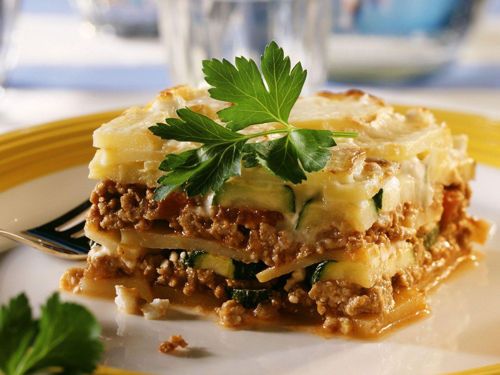 Moussaka Mit Kartoffel Und Zucchini bestimmt für Moussaka Rezept Kartoffeln Hackfleisch