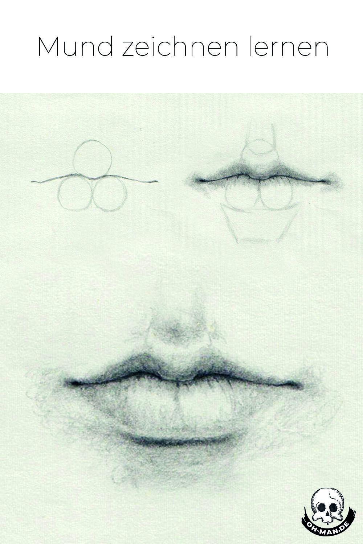 Mund Zeichnen (Mit Bildern) | Mund Zeichnen, Mund Zeichnen in Wie Kann Ich Zeichnen Lernen