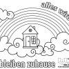 Mut Machen Mit Malaktion Für Kinder | Antenne Niedersachsen bei Regenbogen Ausmalbild