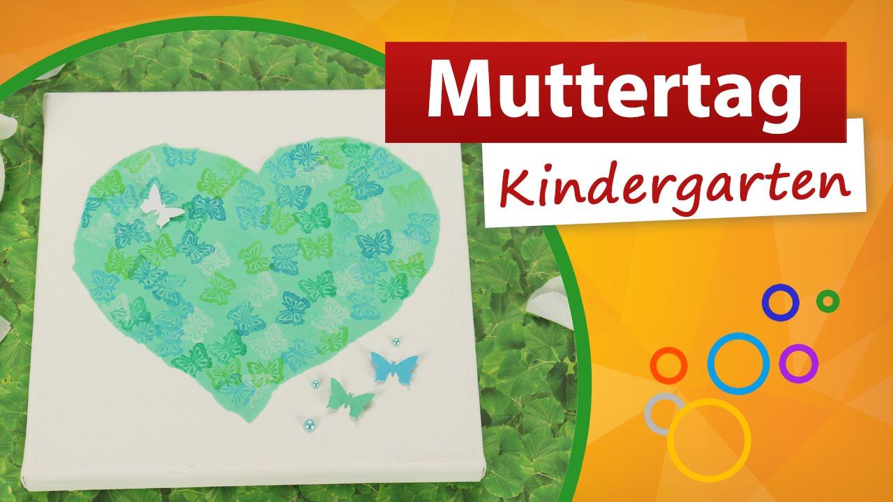 Muttertag Kindergarten 💙💚💛 Trendmarkt24 Bastelideen Für Kinder bestimmt für Muttertagsgeschenk Basteln Kleinkinder
