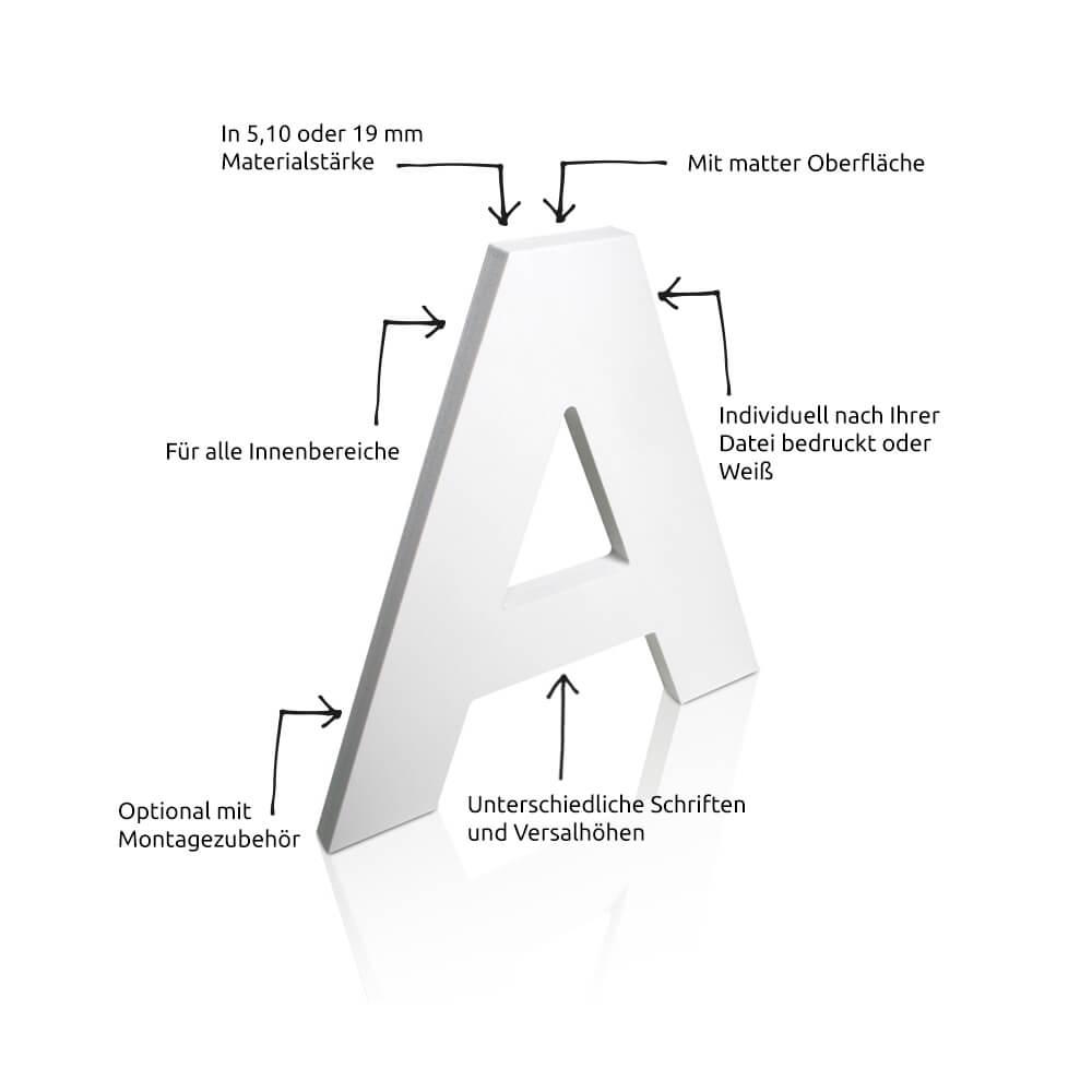 My 3D-Buchstaben Hartschaum innen Bilder Aus Buchstaben