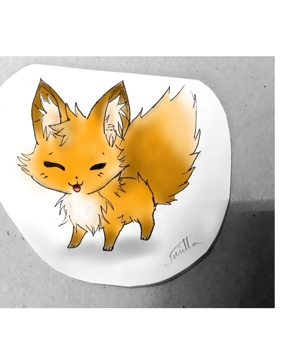 My Art ~ - Chibi Fuchs Bunt - Wattpad ganzes Manga Tiere