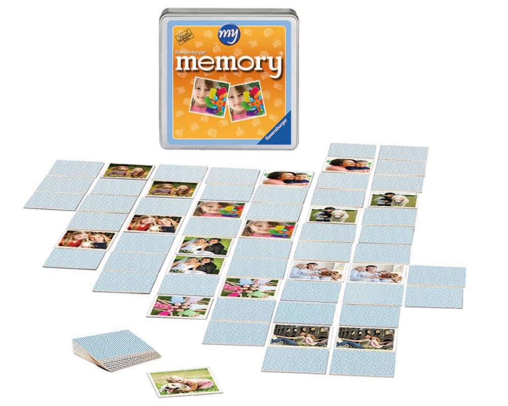 My Memory® – 72 Karten mit Memory Spiel Selbst Gestalten
