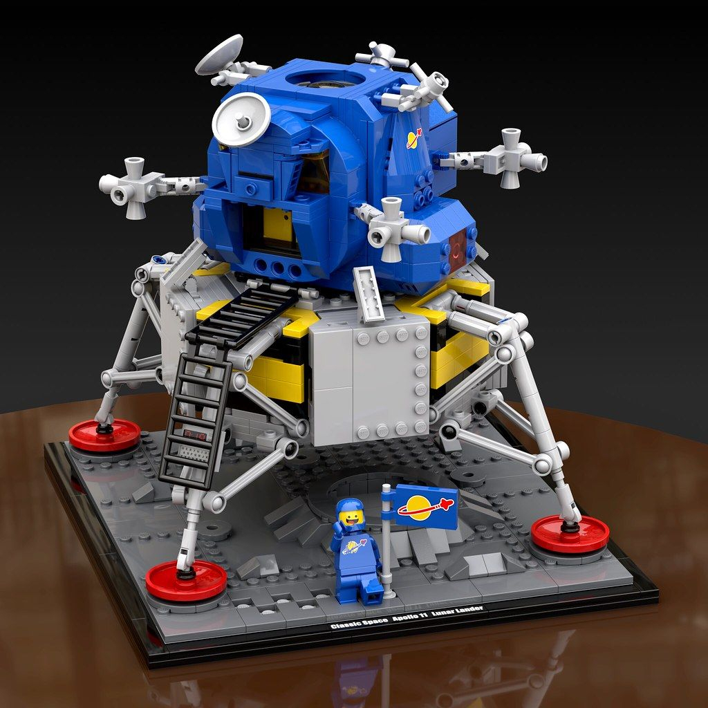 Nasa Apollo 11 Lander Classic Space | Lego, Raumschiff, Lego ganzes Playmobil Raumfahrt