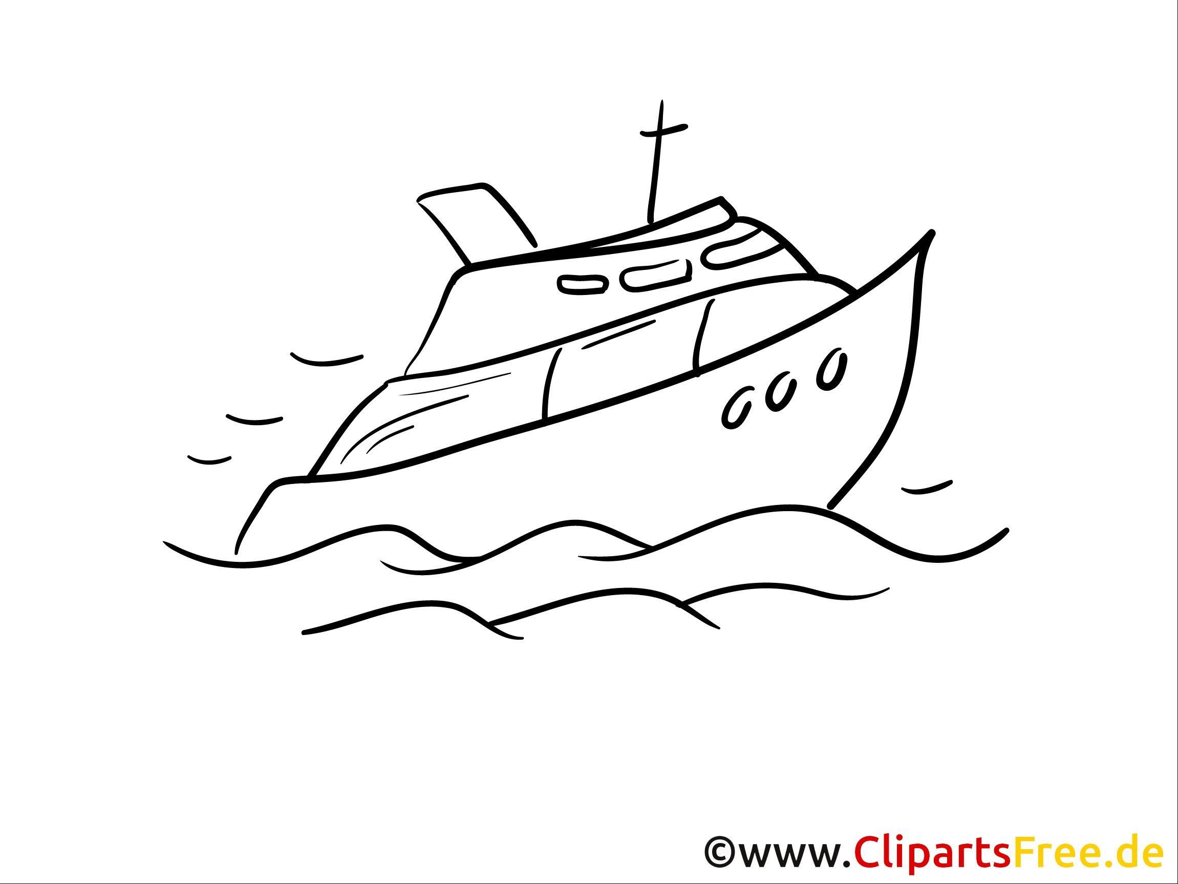 ausmalbild schiff  kinderbilderdownload  kinderbilder