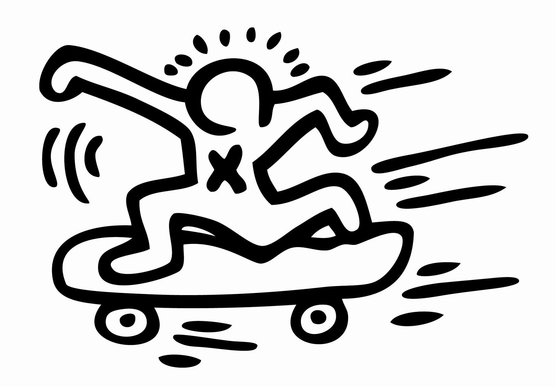 Neu Keith Haring Dessin (Mit Bildern)   Keith Haring, Keith innen Keith Haring Malvorlagen
