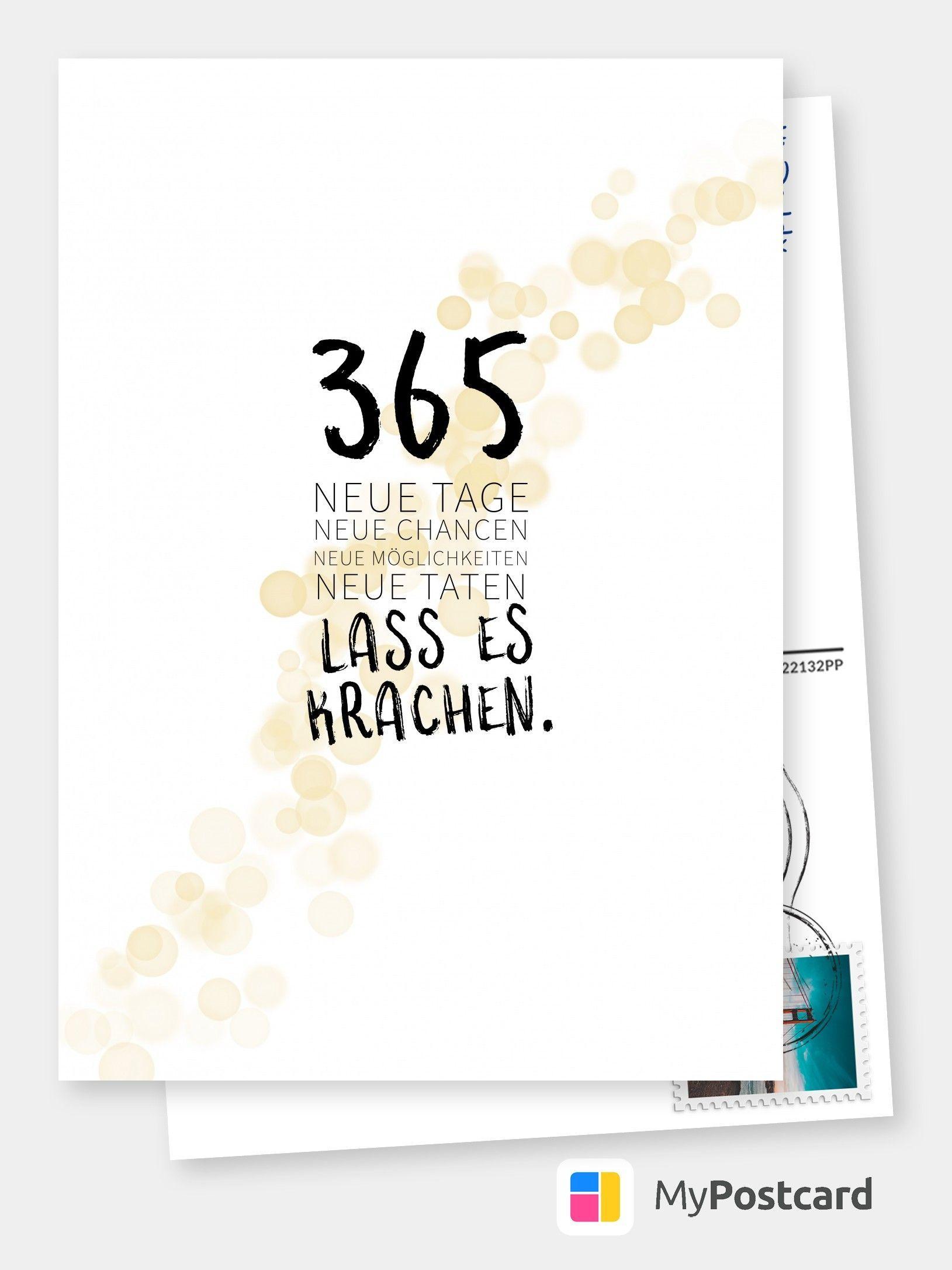 Neujahrsgrüße - Frohes Neues Jahr Karten / Frohes Neues Jahr in Neujahrswünsche Karten
