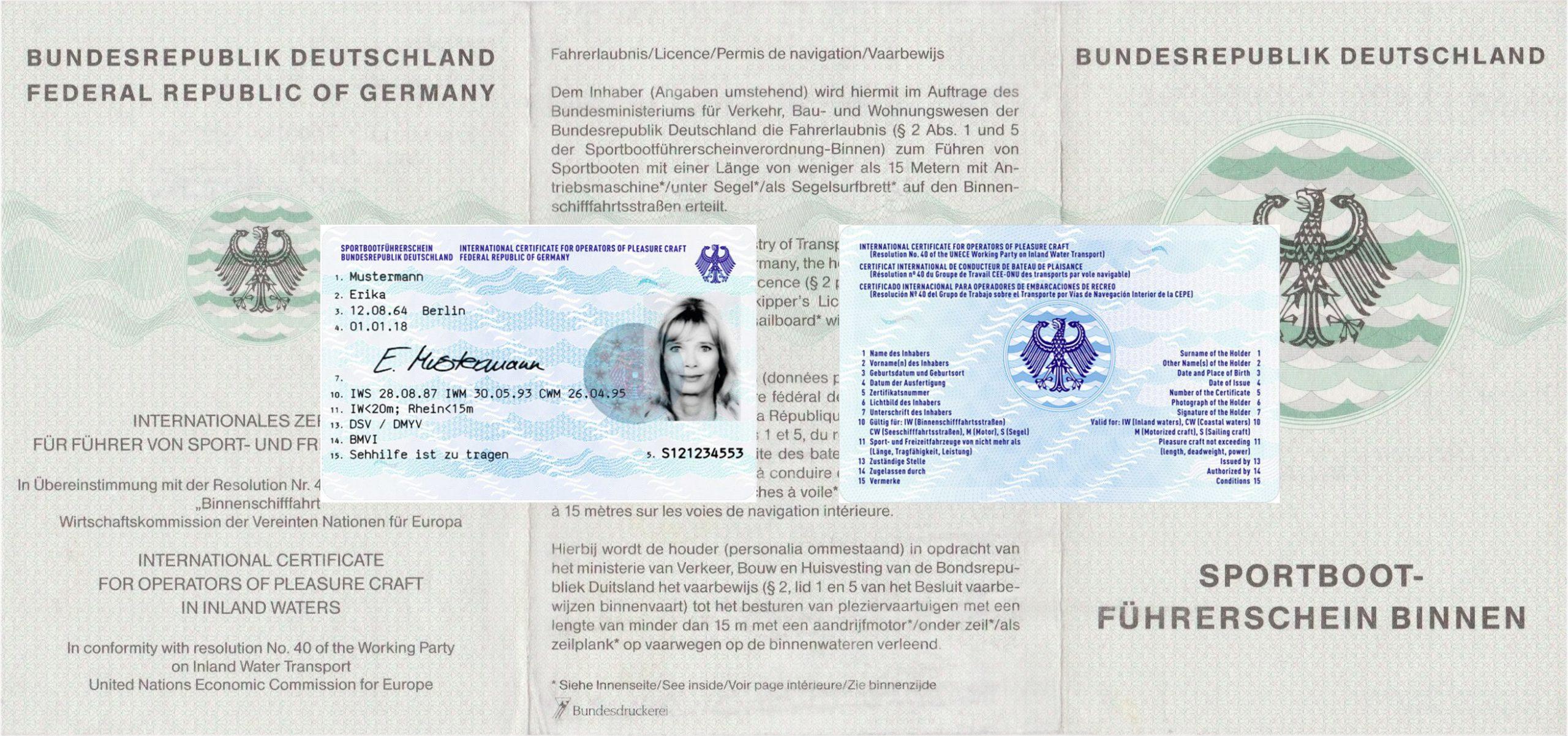 News: Sportbootsführerschein verwandt mit Motorbootführerschein Berlin Kosten