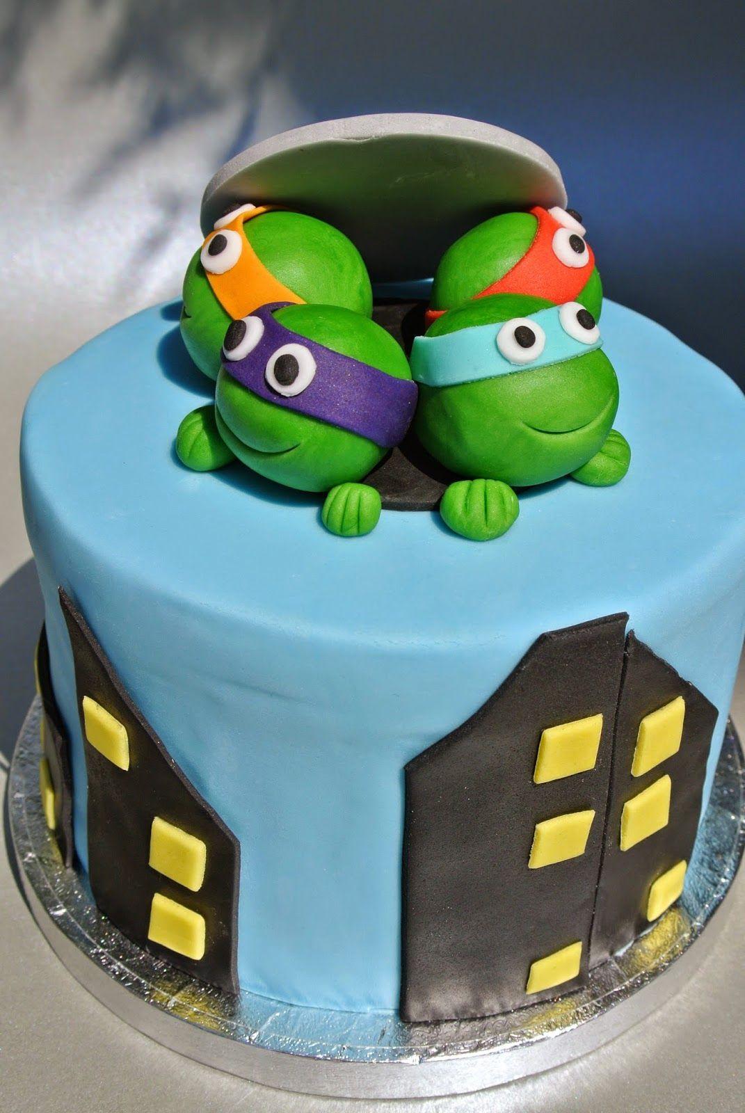 Ninja Turtles Torte | Motivtorten Kindergeburtstag, Kinder innen Geburtstagstorte Für Jungs