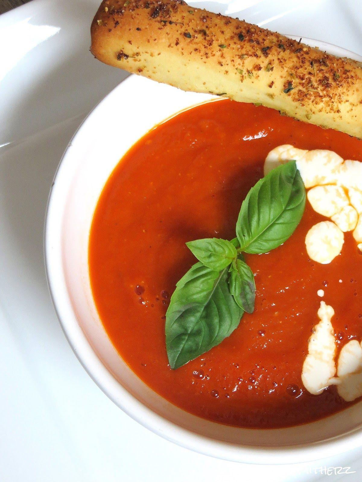 Ofengeröstete Tomatensuppe – Aromenzauber Pur (Mit Bildern ganzes Rezepte Tomatensuppe Aus Frischen Tomaten