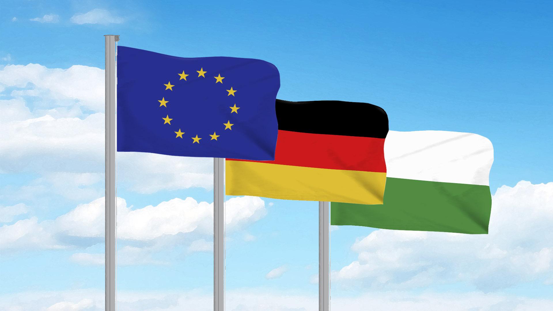 Offizielle Flaggen Hissen - Eine Einführung - Vispronet® Blog mit Unterschied Fahne Flagge