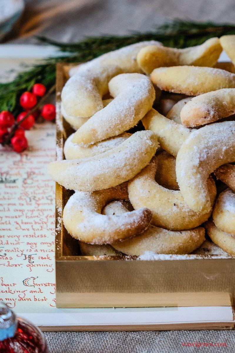 Ohne Geht Gar Nicht! Rezept Für Vanillekipferl ganzes Weihnachtsplätzchen Vanillekipferl Rezept