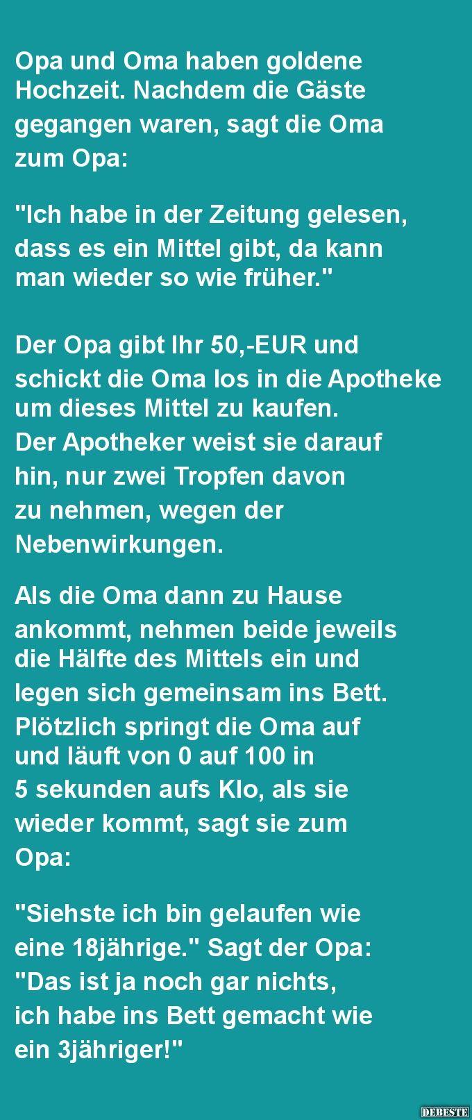 Opa Und Oma Haben Goldene Hochzeit. | Gedicht Hochzeit bestimmt für Geburtstagsgedichte Lustige Witzige Gedichte Und Coole Sprüche
