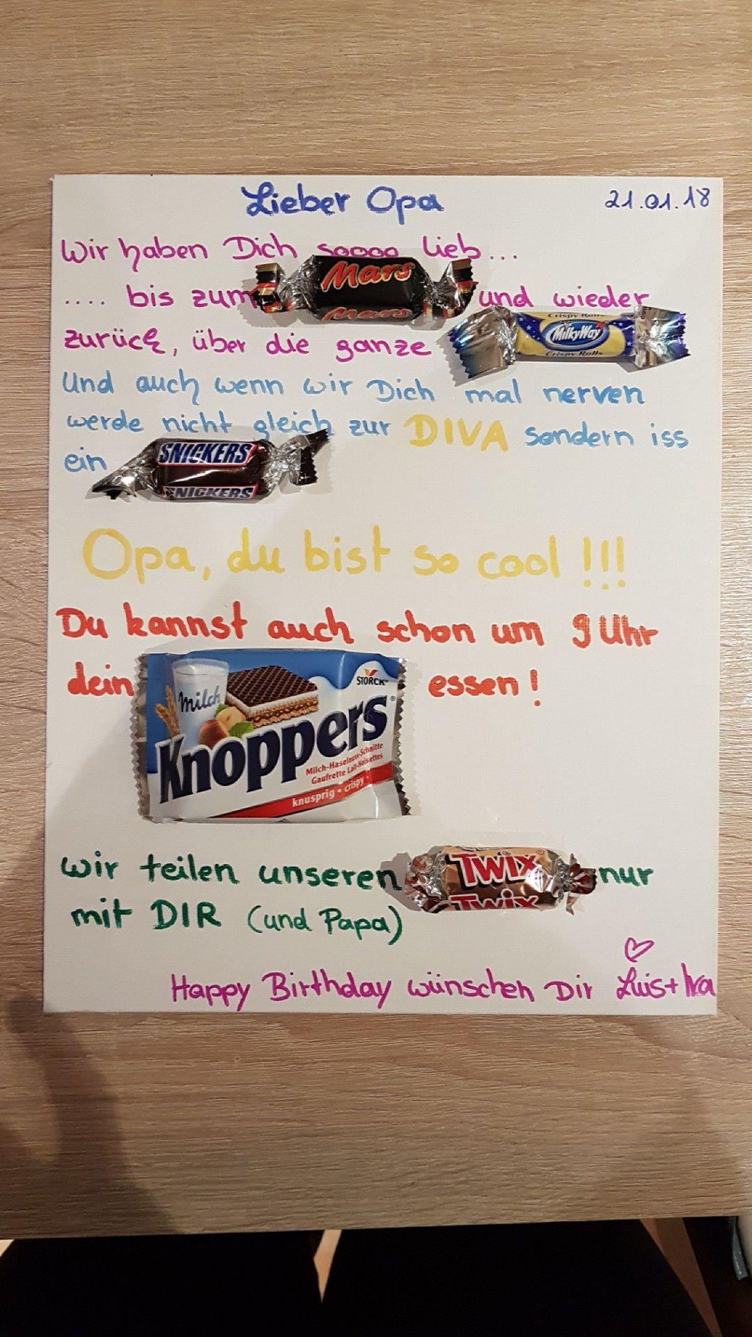 geschenke für opa zum geburtstag  kinderbilderdownload