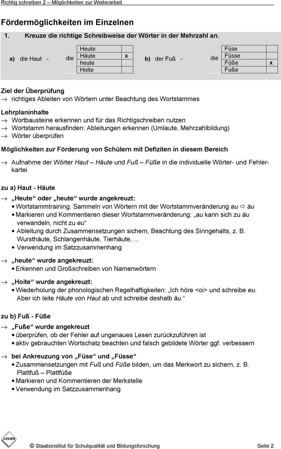 Orientierungsarbeiten Deutsch Richtig Schreiben innen Orientierungsarbeiten 2 Klasse Bayern