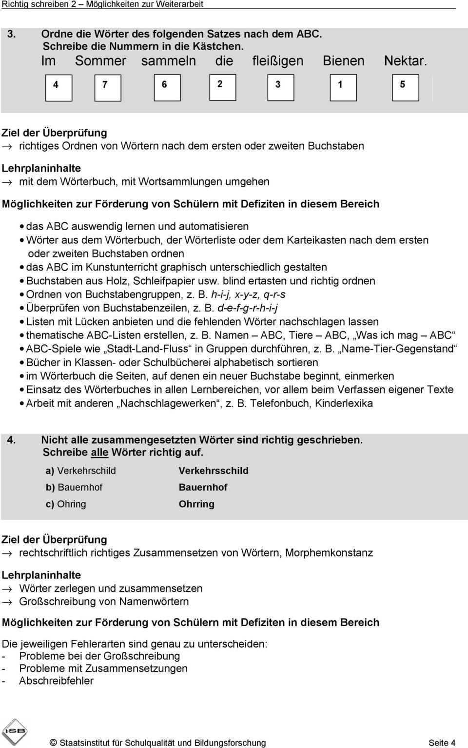 Orientierungsarbeiten Deutsch Richtig Schreiben mit Orientierungsarbeiten 2 Klasse Bayern
