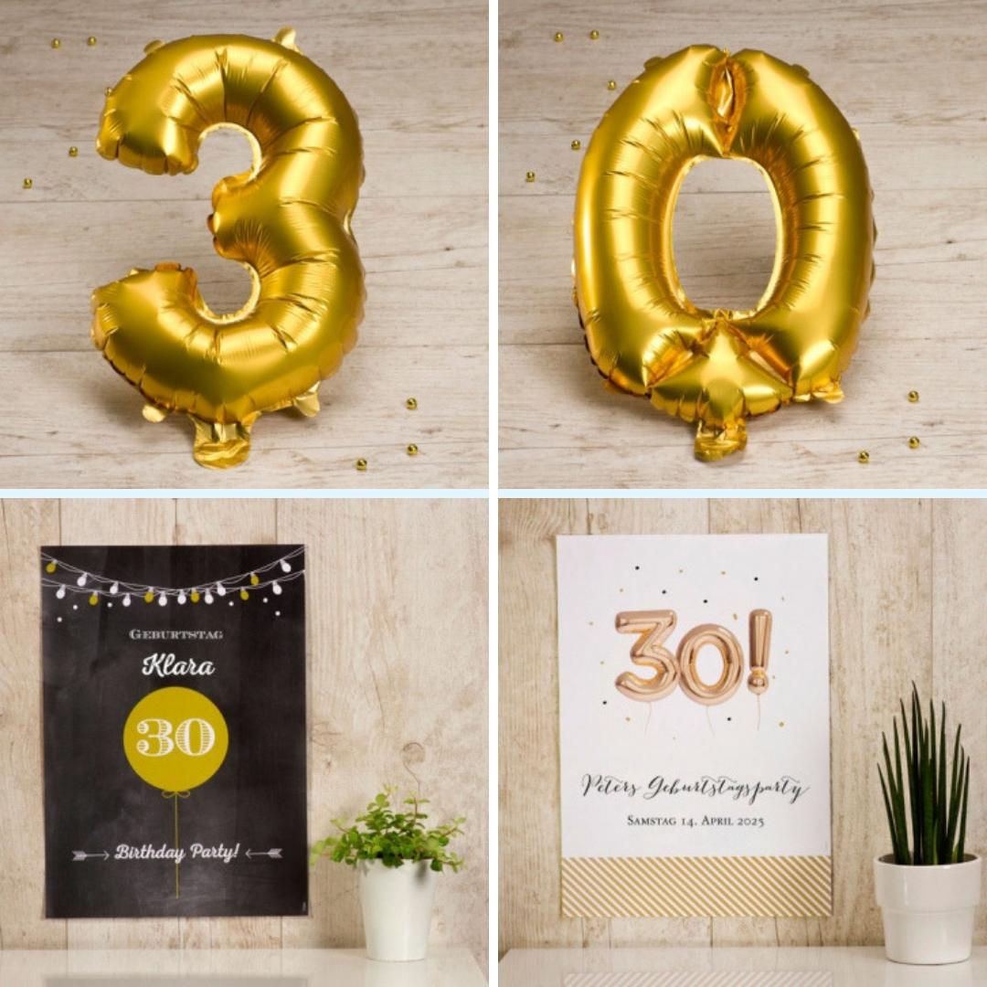 Originelle Tipps Und Ideen, Um Ihren 30. Geburtstag Zu verwandt mit Geburtstagsüberraschung Zum 30