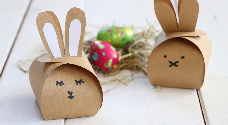 Oster-Diy: Hasen-Schachtel Falten (Inkl. Freebie) - Lavendelblog für Bastelvorlagen Ostern Zum Ausdrucken