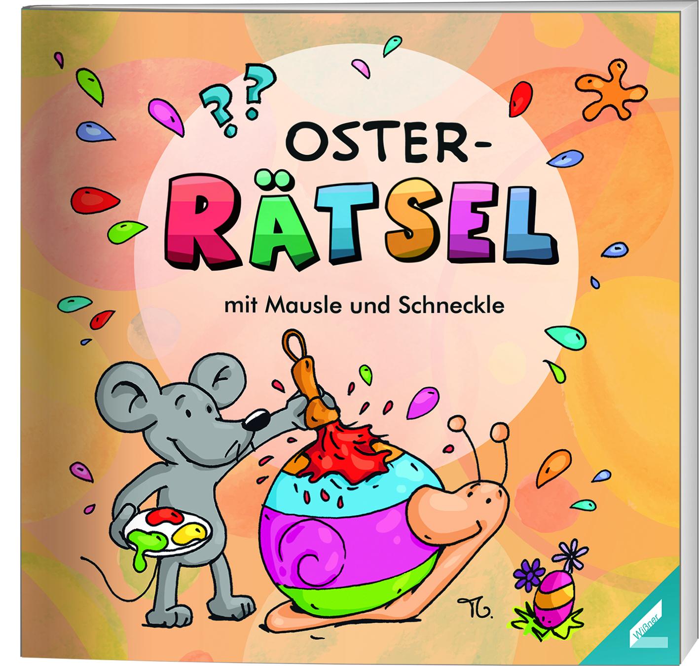 Oster-Rätsel Mit Mausle Und Schneckle für Osterrätsel Für Grundschulkinder