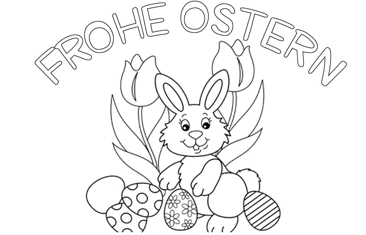 Osterbilder Zum Drucken - Malvorlagen Für Kinder über Osterbilder Zum Ausmalen Und Ausdrucken