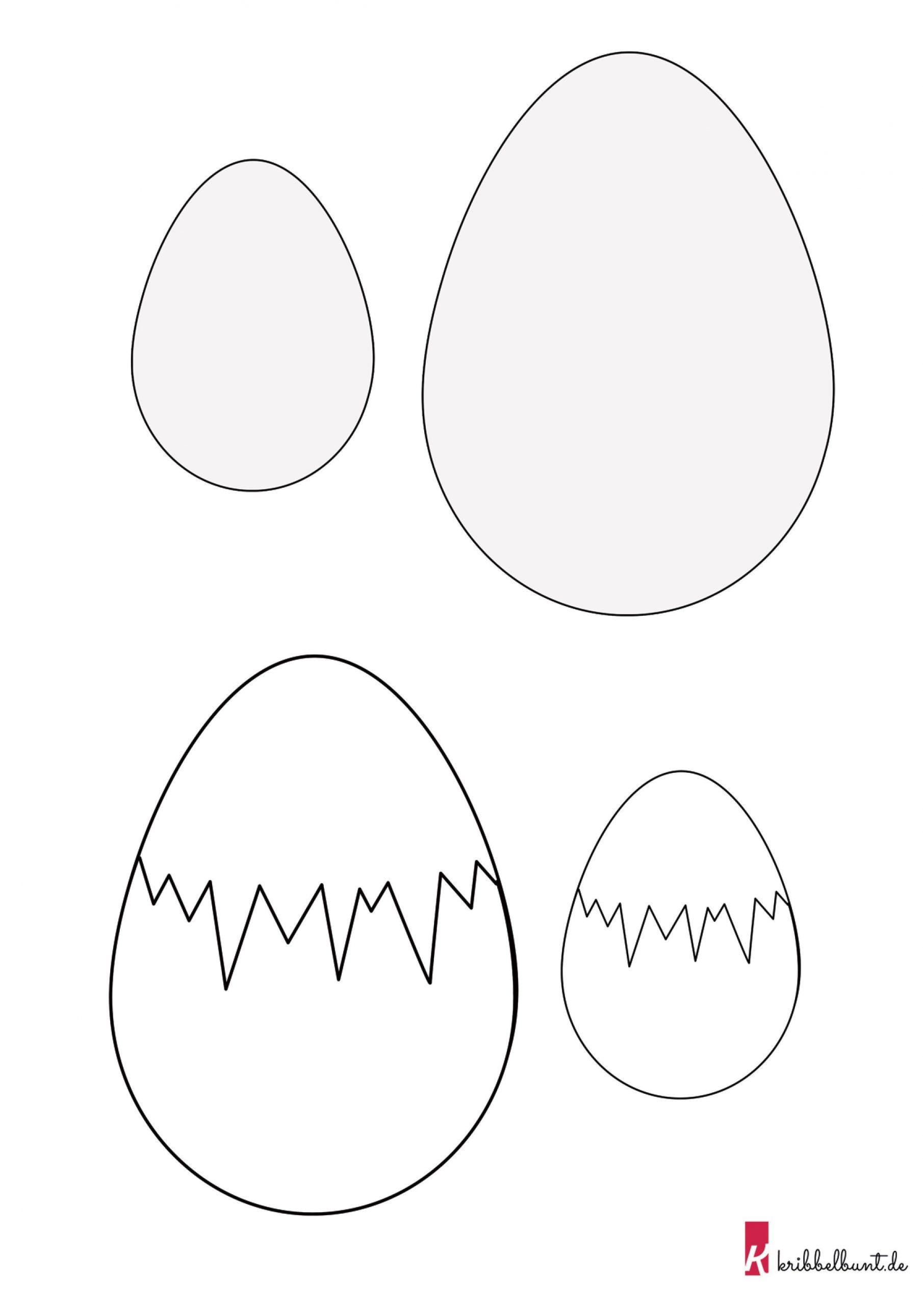 Osterei Vorlage In 2020   Osterei Vorlage, Bastelvorlagen mit Ostereier Schablonen Zum Ausdrucken