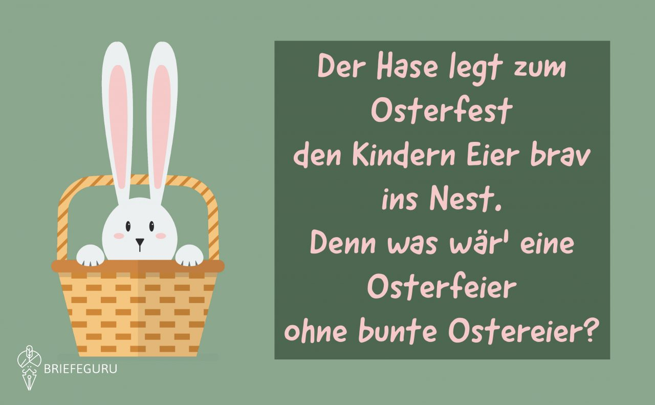 Ostergrüße Und Beliebte Osterwünsche • Ostern 2020 in Ostergedichte Für Kindergartenkinder
