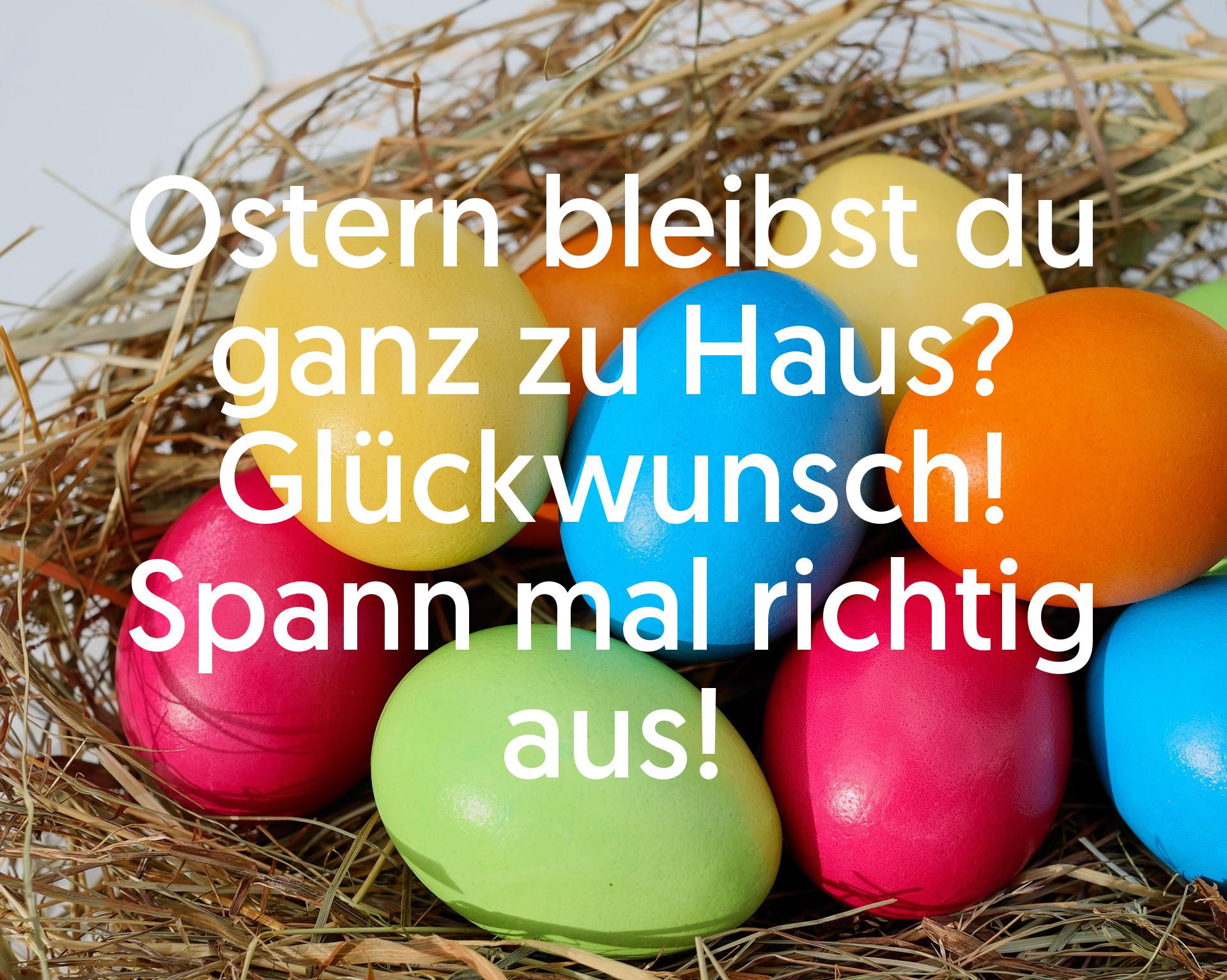 Ostern 2020: Die Besten Ostergrüße Für Whatsapp Und Co. innen Lustiges Zu Ostern