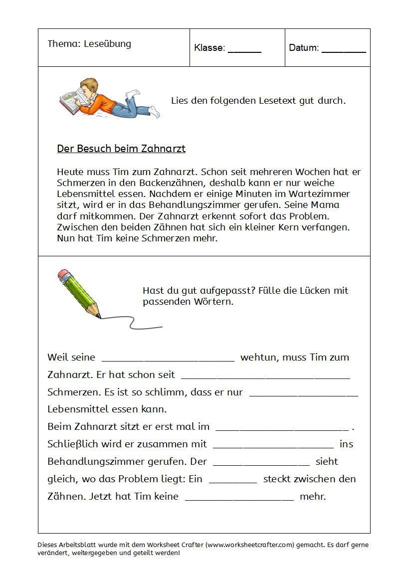 Owlmail - Lückentext Zum Leseverständnis (Mit Bildern mit Dritte Klasse Deutsch Arbeitsblätter