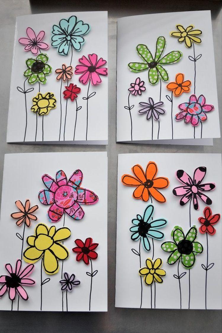 Papierblumen Basteln Mit Kindern – Schöne Ideen Und verwandt mit Bastelarbeiten Für Kindergartenkinder