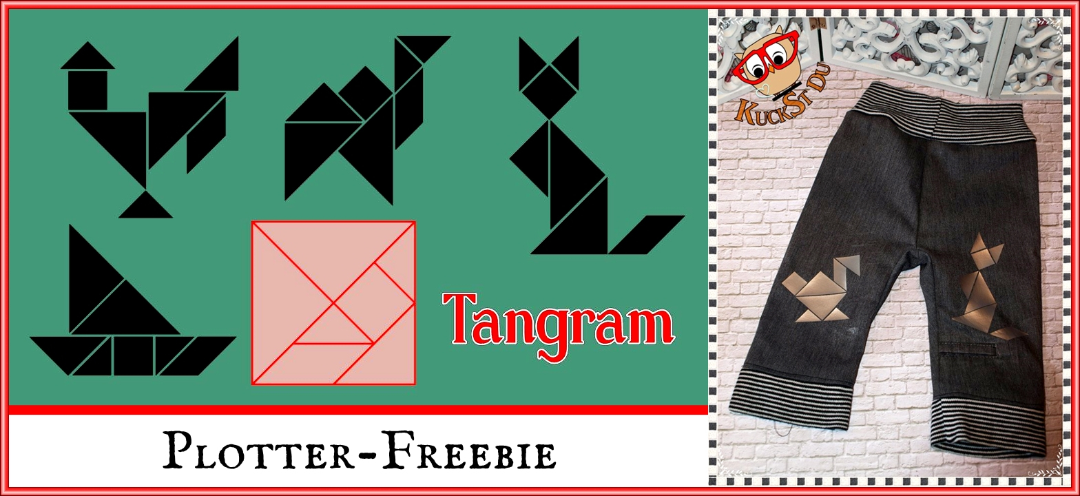 Papierpotpourri: Tangram verwandt mit Tangram Figuren