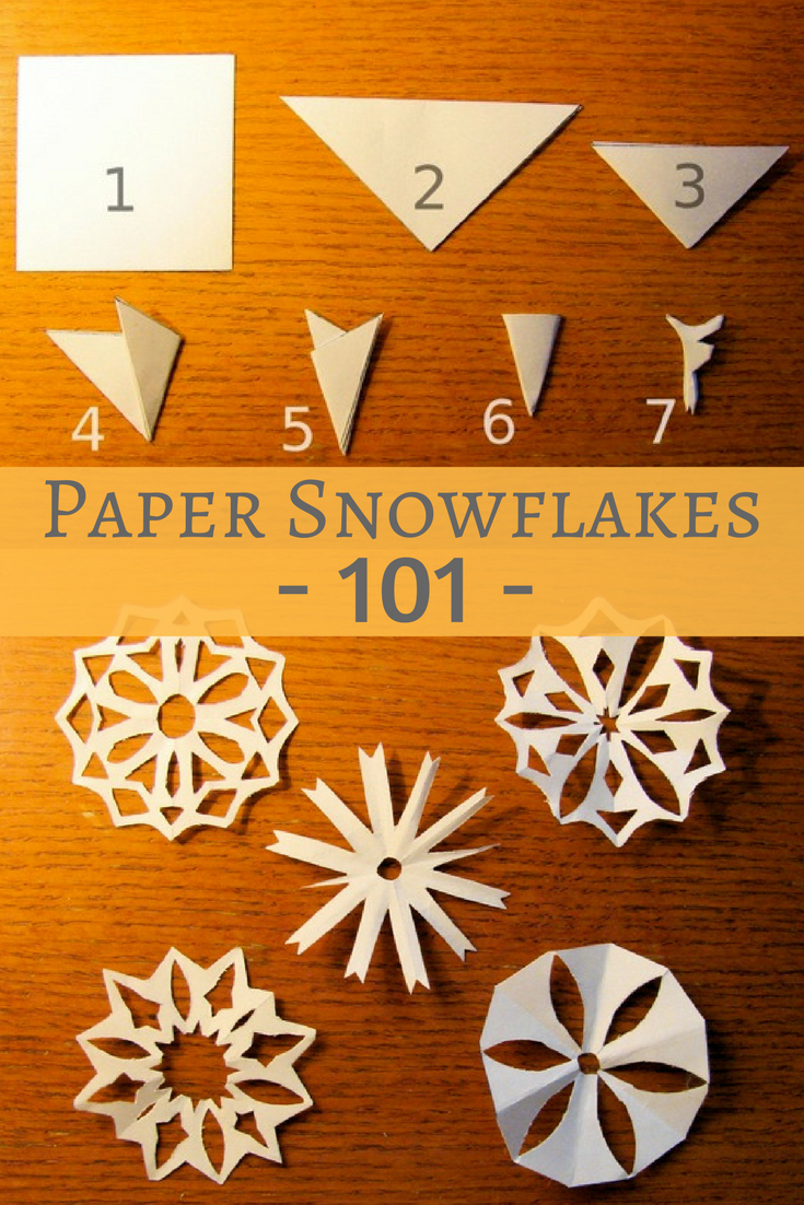 Papierschneeflocken 101: So Schneiden Sie für Schneeflocken Aus Papier Schneiden