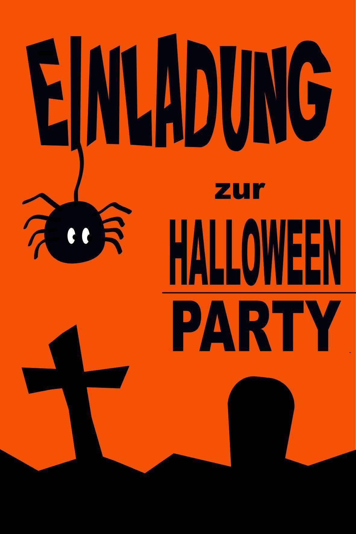 Party Einladungen Vorlagen Kostenlos | Halloween Einladung verwandt mit Halloween Einladung Vorlagen