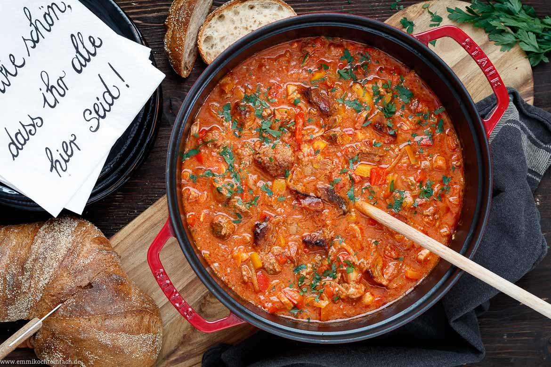 Party Pfundstopf Für Zwölf - Ein Einfaches Partyessen verwandt mit Schnelle Rezepte Für Gäste Zum Vorbereiten